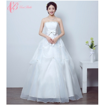 Lace appliqued off-shoulder bridal gown princess wedding dress ...