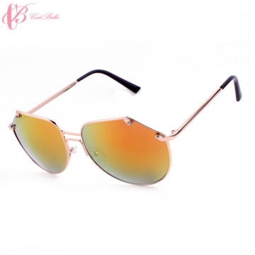 ( Orange, Green, Light Grey in Stock) Fashion Vogue Colors Sunglass Valentines Gift Cestbella orange lenses normal size
