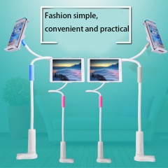 Mobile Phone Flat General Stent Lazy Bedside Leisure Mobile phone Fashion Stent pink one size