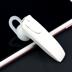 unilateral   Bluetooth headset wireless Hanging ear style General  Bluetooth fashion headse white