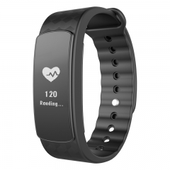 intelligent Heart rate monitor  Bluetooth  Watch waterproof intelligent movement wristband black