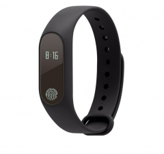 Intelligent Wristband Heart Rate Movement Step Call Remind Pofession Waterproof Andrews Ios General black