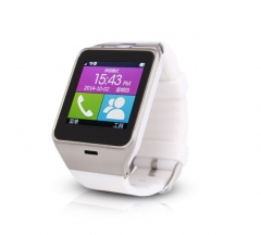 Intelligent Movement Watch Cardable Card Call Take Pictures Touch Screen Wear Step Wristband white