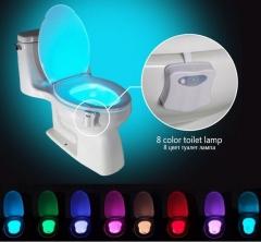 Creative Motion Sensing Toilet Luminous Light 8 Colors Led Toilet light Night light