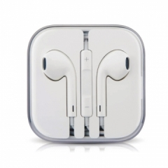 Apple Android Phone Universal Remote Control In-ear Style Headset High Quality Microphone Headset white