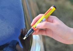New Fix It Pro Clear Car Scratch Repair Remover Pen Simoniz Clear Coat Applicator