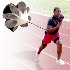 Speed parachute Training umbrella Soccer Resistance rope Running Chute for Football bodybuilding