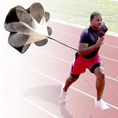 Speed parachute Training umbrella Soccer Resistance rope Running Chute for Football bodybuilding