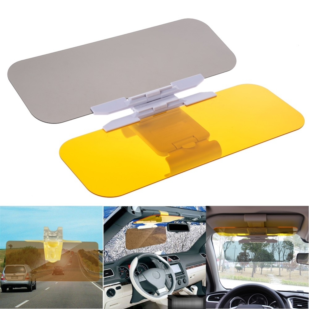 Automobile Car Visor Goggles HD Vision Easy View Flip Down Anti ... 530adc9565f