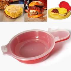 Cooking Tool Microwave Cheese Egg Cooker Egg Hamburg Omelet Maker Kitchen Cooking Tool red one size