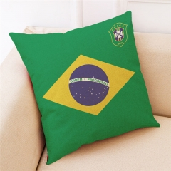 2018 Russia World Cup Home Pillow Cover Soccer Pillow Covers Pillowcase Gift For World Cup Fans 1 one size