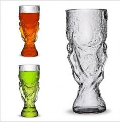 Creativity Hercules Beer Mug Bar Football World Cup Oversized Vigorously God Cup white 350ml