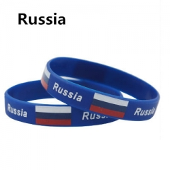 2018 Russia World Cup National Flag feminina pulseira masculina  mujer 1 one size