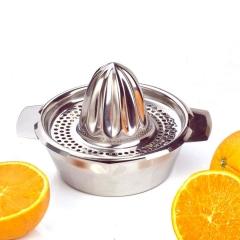 Handhold Orange Lemon Juice Maker Stainless Steel Manual Squeezer Press Squeezer Citrus Juicer silver one size