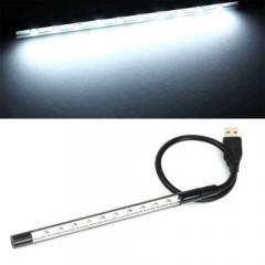 Flexible Ultra Bright Mini 10 LEDUSB Light Computer  For PC Laptop Computer Convenient for reading random color one size 1.2w