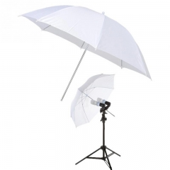 33 Inch Photography Studio Flash Diffuser Translucent Soft Light White Umbrella Camera Accessories