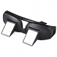 Lazy Periscope Horizontal Reading TV Sit View Glasses On Bed Lie Down Bed Prism Spectacles black Myopia
