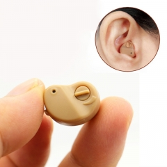 K-80 Hearing Aid In The Ear Invisible Sound Amplifier Adjustable Tone Digital Ear Care Aids