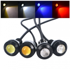 Ultra-thin Invisible Eagle eye light 5W High Power rogue Reversing light Super bright Led light