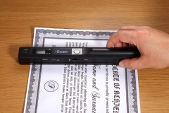 Mini Portable Scanner iscan LCD Display JPG/PDF Format Document Image A4 Book Scanner 900DPI