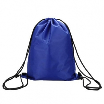 1 Piece Drawstring Backpack Bags for Outdoor Activities blue 41*34cm