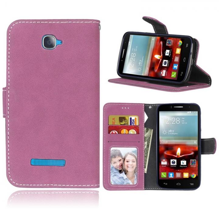599321bb69 Alcatel One Touch Pop C7 Case,Premium PU Leather Wallet [Card/Cash Slots
