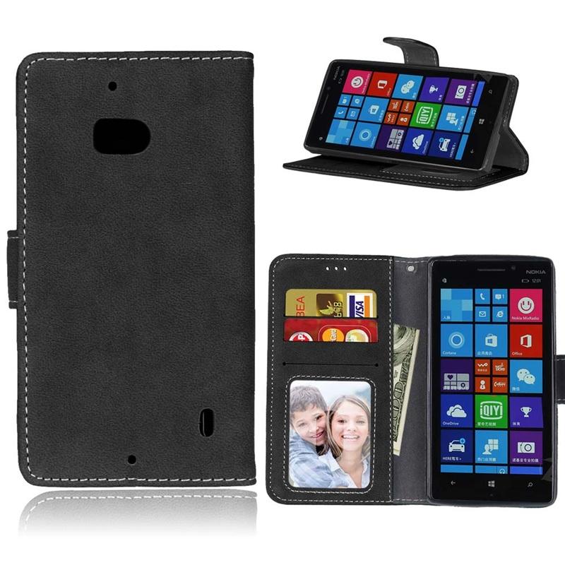 official photos 39d07 469c7 Pattern Premium PU Leather Wallet [Card/Cash Slots] Flip Case Cover (black)  For Nokia Lumia 930, Nokia Lumia Icon