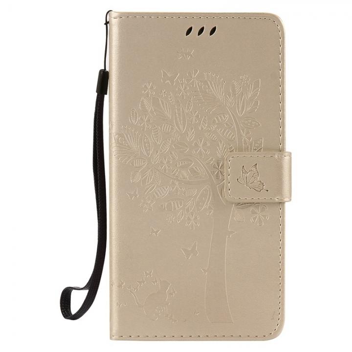 HTC Desire 830 Case,Premium PU Leather Flip Wallet Case Cover (beige) For