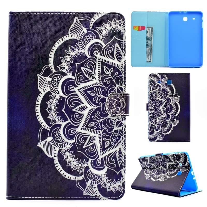 competitive price 0e0b6 15244 Samsung Galaxy Tab E 9.6 Inch SM-T560 Case,Ethnic Style Flip Cover (pattern  4) For Samsung Galaxy Tab E 9.6 Inch SM-T560