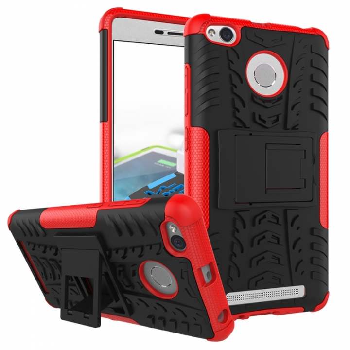 Redmi 3 / 3S Case,Hard PC+Soft TPU Shockproof Tough Dual Layer Cover