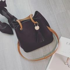 Summer Fashion One-Shoulder Bag Simple Shoulder Bag Shoulder Bag black onesize