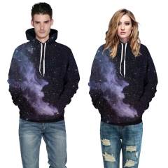 Starry sky Design 3D Digital Printed Hooded fleece  Jacket Fashion  for Women and Men Hooded fleece colorful xxl/xxxl