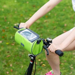 Outdoor Mountain Bike Riding Bag Touch Screen Mobile Phone Package