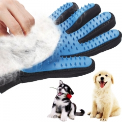 Silicone Dog Pet brush Glove Pet Grooming Glove Dog Bath Cat cleaning Supplies Combs