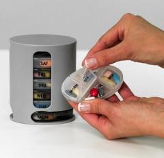 Protable Pill Box Organizer Travel Plastic Vitamin Medicine Drug Pill Divider Storage Case Container