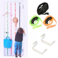 Over Door Hanging Lanyard Hanger Hat Handbag Coat Tidy Storage Organizer Hook for light things