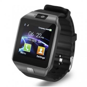 Smart Watches 2016 DZ09 SIM/TF bluetooth smart watch Sport Pedometer WristWatch black