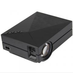 GM60 LCD Projector 1000LM 800 x 480 Pixels 1080P USB HDMI VGA AV Connectivity black One size