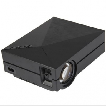 Youkatu S320 LCD Projector 1800 Lumens 800 x 600 Pixels HD Multimedia Player white color available black One size