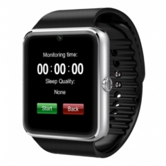 Bluetooth Smart Watches GT08 with Camera Smartwatch for Android Relogio Inteligente black