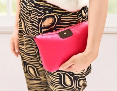 Cosmetic Bag Portable Travel Makeup Bag black one size