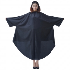 Adult Hair Cutting Cape Waterproof Salon Products Black One Size