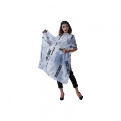 Adult Hair Cutting Cape Waterproof Hairdressing Tool black one size