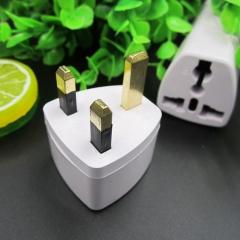 UK Plug Adapter Universal Socket British Standard Travelling Gadget 13A 250V White