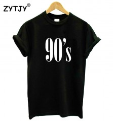Letters Women T shirt Cotton Casual Funny tshirts For Lady Top Tee Hipster Tumblr Black White Gra