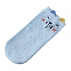 Comfortable Animal Ear Socks Cotton Cute Patterns Lovely Women Short Socks Summer Fashion Soft Co