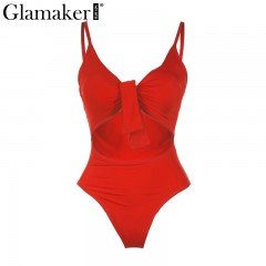 Deep v neck summer bodysuit Women bow sleeveless crop sexy jumpsuit romper Beach bohemia floral p