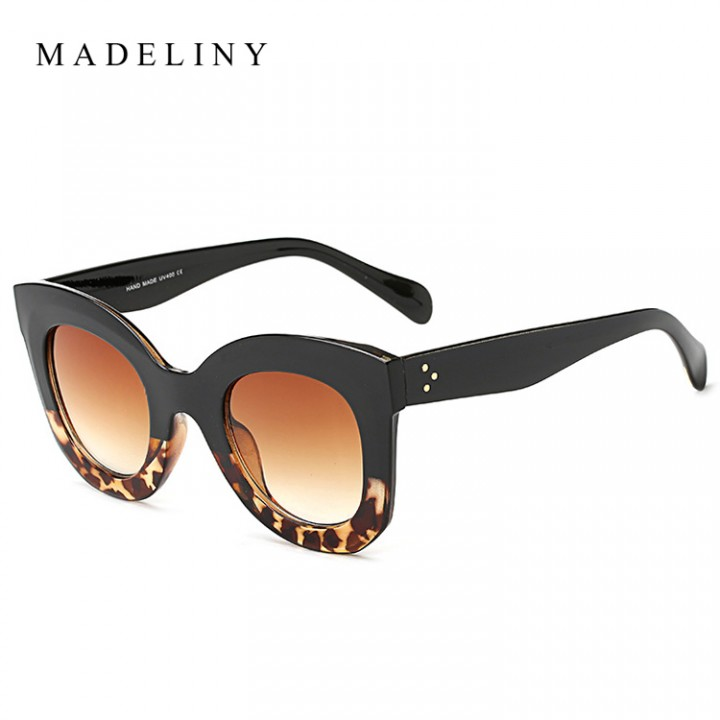 70a46b22a745a New Fashion Cat Eye Sunglasses Women Brand Designer Vintage Gradient Cat Eye  Sun Glasses Shades F