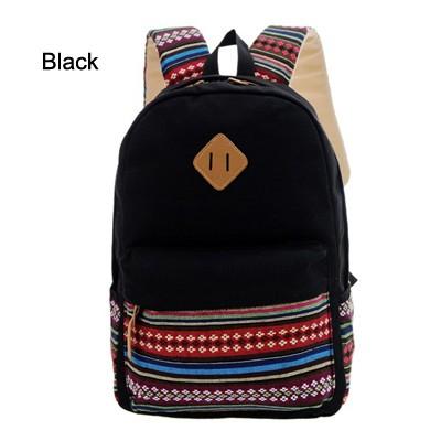 08363b937 women travel canvas backpack Female small backpack Retro back pack ...