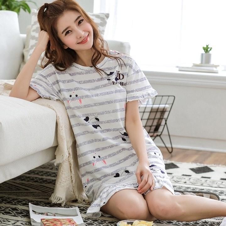 Cute Women Sleepwear M-XXL Nightgowns Home Wear Girls Sleep Lounge  Nightgrowns Dress Home Clothin  Product No  484934. Item specifics  Seller  SKU hMqrKCHEUB ... 9b778ce6e